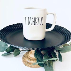"2/$25 🙌🏻 SALE | RAE DUNN •new• ""Thankful"" mug ☕️"